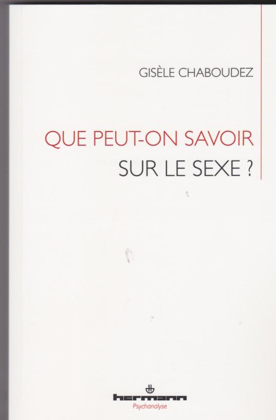 Que peut-on savoir sur le sexe ?