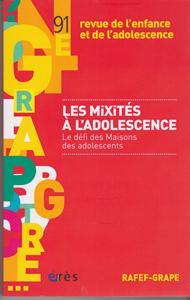 La lettre du grape (10/2015 : Les mixités à l'adolescence. Le défi  des Maisons des Adolescents)