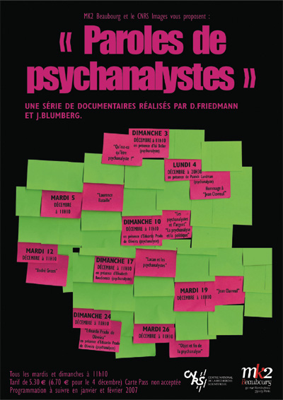 paroles de psychanalyste