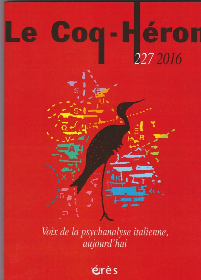 Voix de la psychanalyse italienne, aujourd'hui