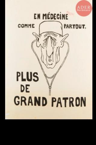 De Gaulle en Patron de médecine