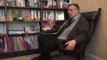 """Interview de Gérad Haddad pour son livre """"Le complexe de Caïn. Haine de l'autre et rivalité fraternelle"""" par Anne Djamdjian."""
