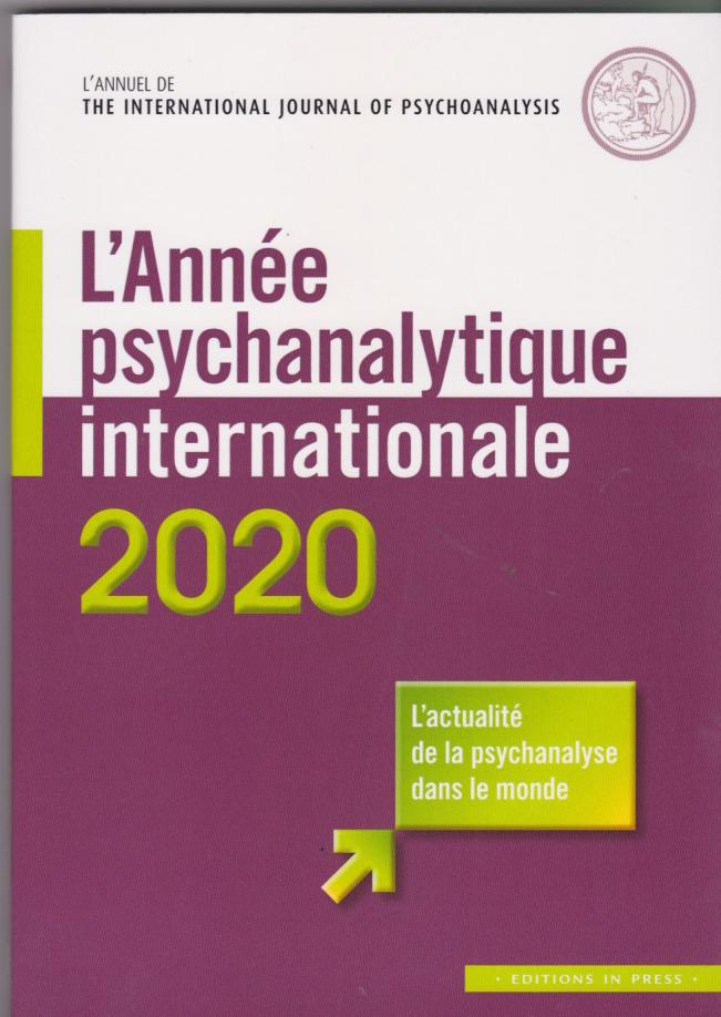 l'année psychanalytique internationale 2020
