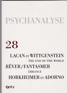 Psychanalyse (10/2013 : Rêver fantasmer)