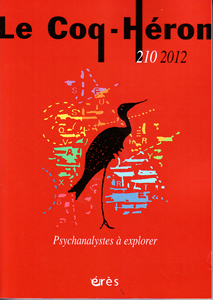 Le Coq-Héron (10/2012 : Psychanalystes à explorer)