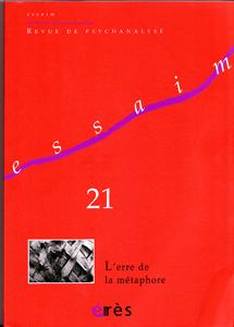 Essaim (11/2008 : l'erre de la métaphore)