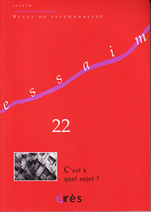 Essaim (6/2009 : C'est à quel sujet ?)