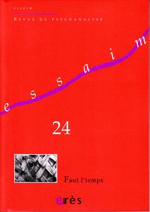 Essaim (3/2010 : Faut l'temps)