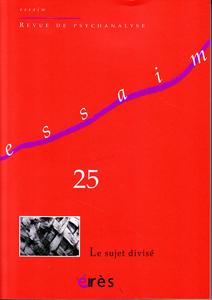 Essaim (12/2010 : Le sujet divisé)