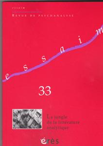 Essaim (10/2014 : La jungle de la littérature analytique)