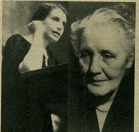 Anna Freud et Mélanie Klein