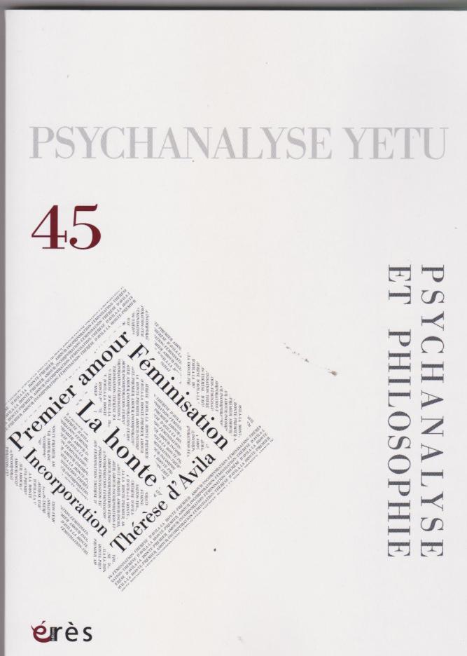 Psychanalyse et philosophie