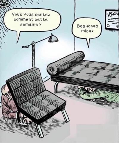 sous le divan