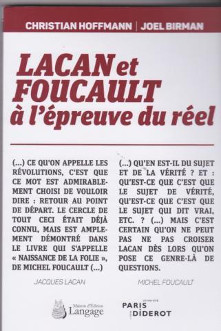 Lacan et Foucault à l'épreuve du réel