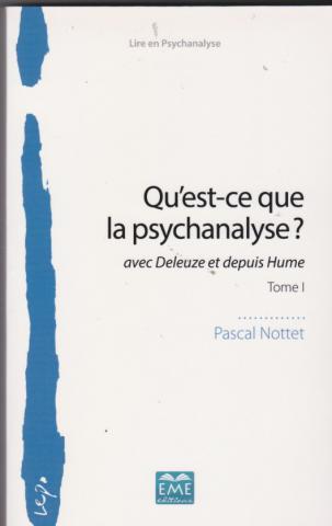 Qu'est-ce que la psychanalyse