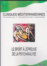 Le sport à l'épreuve de la psychanalyse